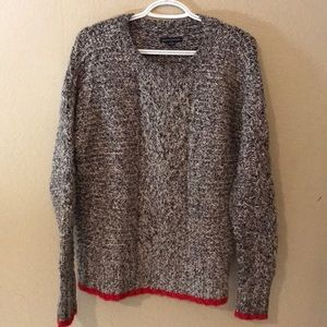 American Eagle Cable Knit Sweater M